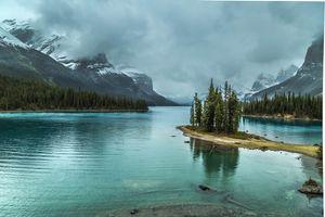 Фото бесплатно Озеро Малинье, Остров Духа, пейзаж