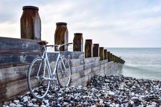 Фото бесплатно пляж, велосипед, круто