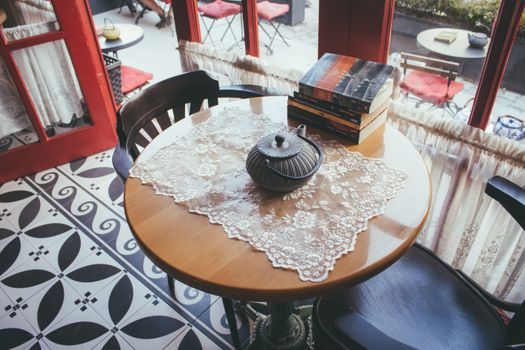 Photo free cafe, relaxing, books