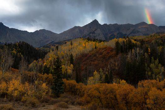 Autumn in the mountains · free photo