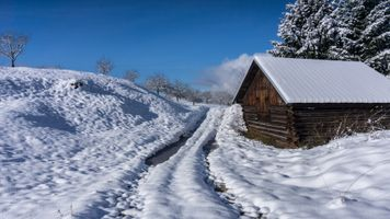 Фото бесплатно Geroldsee, Бавария, пейзаж