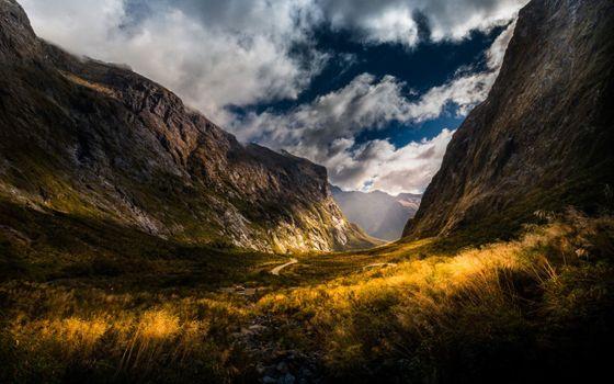 Фото бесплатно осень, автомобиль, скалы