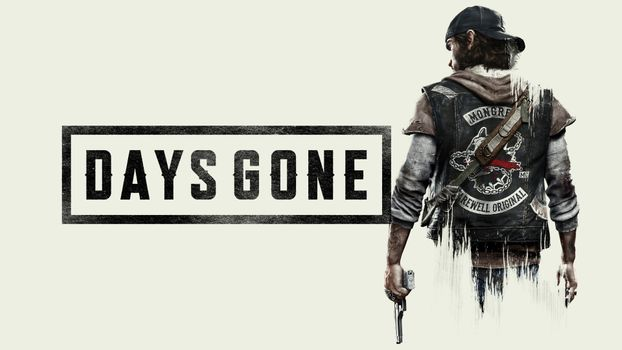 Photo free Days Gone, the game, the inscription