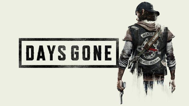 Фото бесплатно Days Gone, игра, надпись