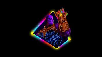 Танос из фильма Мстители