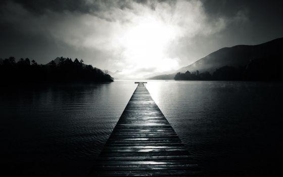 Photo free black, clouds, fog