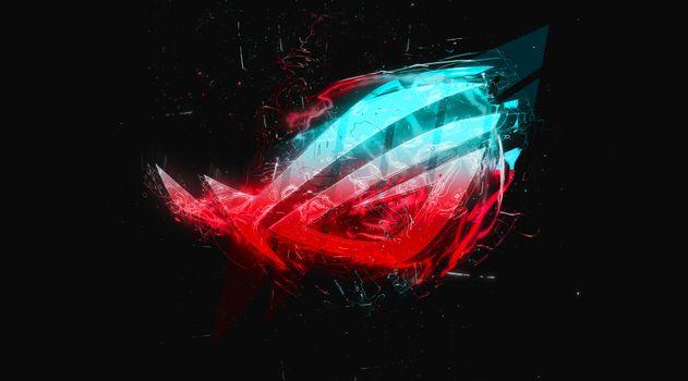Photo free Asus, logo, abstract