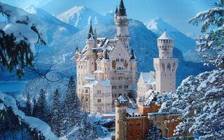 Фото бесплатно замок, Германия, raynshvanshtayn