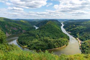 Изгиб реки Саар - River Saar