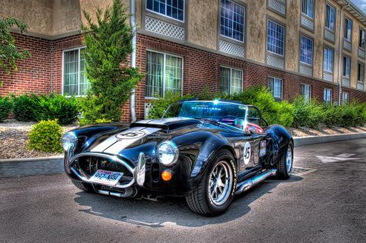 Photo free Cobra, car, car racing