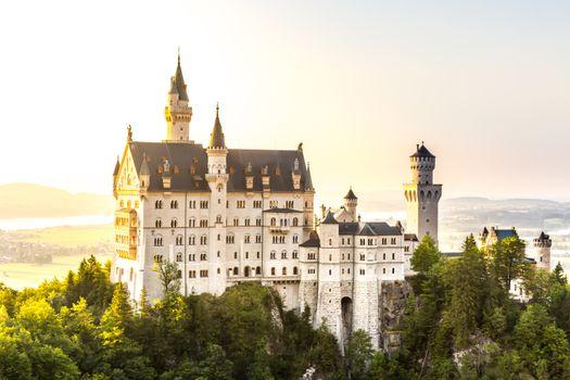Замок Нойшванштайн в Германии · бесплатное фото