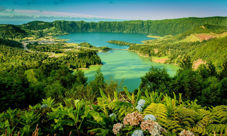 Фото бесплатно Сан Мигель, Азорские острова, Португалия - на рабочий стол