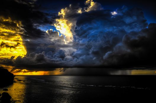 Storm front · free photo