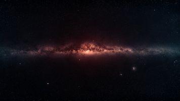 Фото бесплатно центр галактики, туманность, звезды
