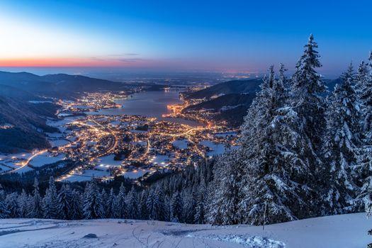 Бесплатные фото Бавария,Валленберг,зима,Bavaria,Альпы,Германия