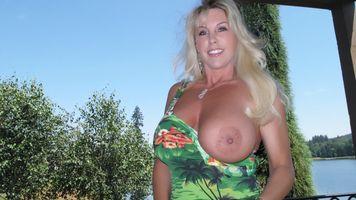 Фото бесплатно грудастые, блондинки, большие сиськи
