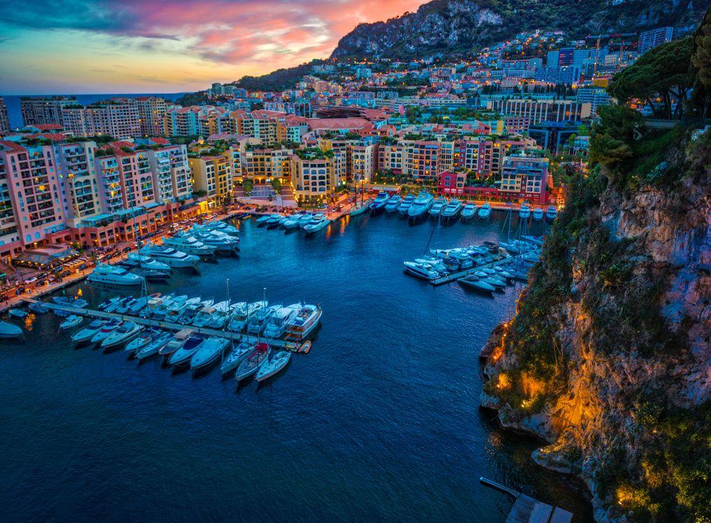 Причал в Монако · бесплатное фото