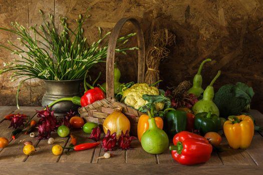 Autumn vegetables · free photo