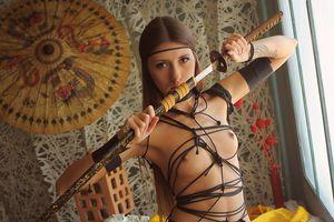 Фото бесплатно Saju A, эротика, голая девушка