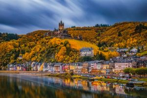 Photo free Cochem, Germany, autumn