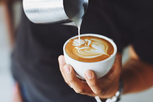 Фото бесплатно кофе арт, молоко, пена