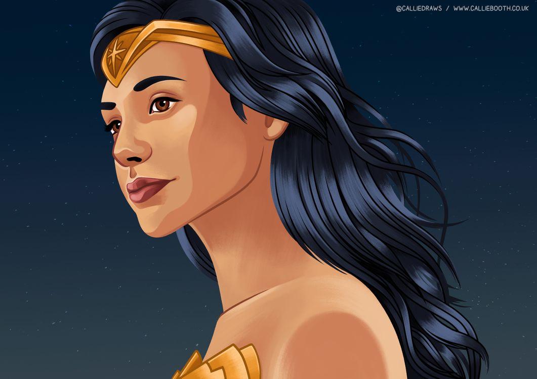 Photos for free Wonder Woman, Superheroes, Artist - to the desktop