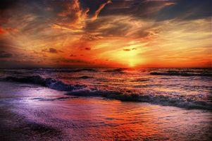 Заставки песок, пейзаж, берег
