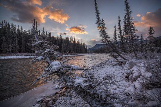 Бесплатная картинка канада, национальный парк банф