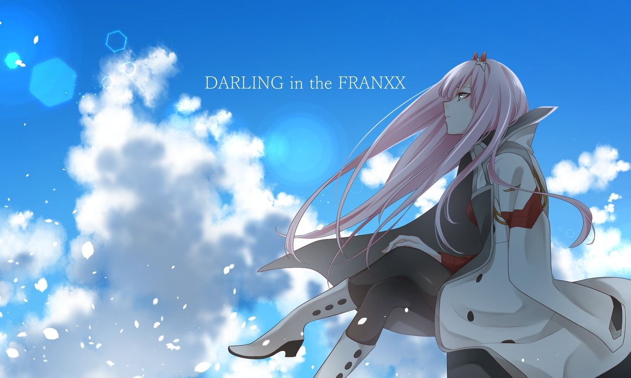 Photos for free darling in the franxx, zero two, pink hair - to the desktop