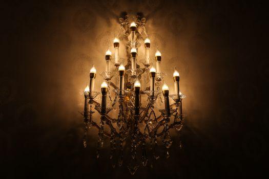 Photo free light, night, vintage