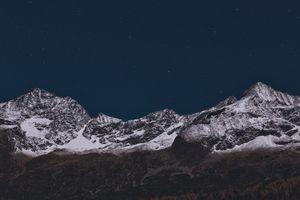 Заставки Горы, Природа, Звезды