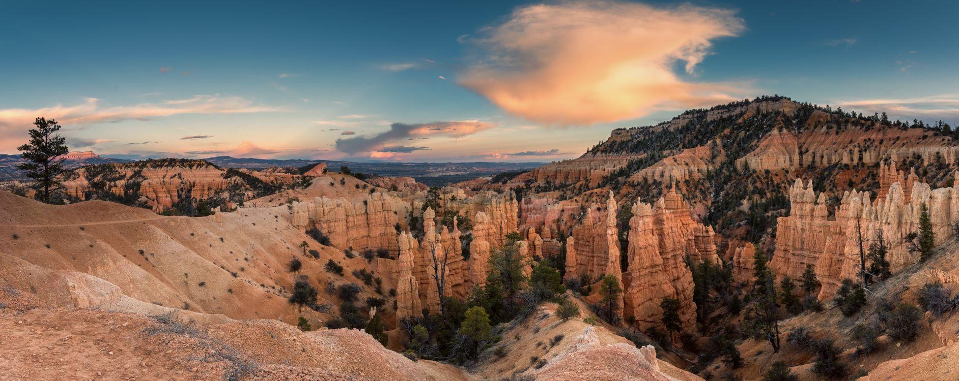 Фото бесплатно Bryce Canyon National Park, Utah, горы - на рабочий стол