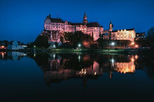 Фото бесплатно Замок Зигмаринген, Баден-Вюртенбер, Тюбинген