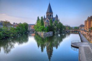 Бесплатные фото Metz,France,Мец,Франция,Лотарингия,река Мозель,город