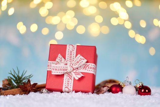 Бесплатные фото обои,снег,фон,подарок,игрушки
