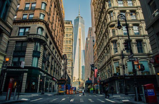 Фото бесплатно улица, Нью-Йорк, здания