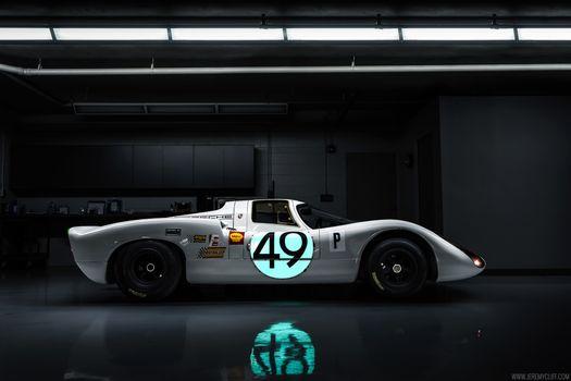 Фото бесплатно машины, porsche 907, Porsche