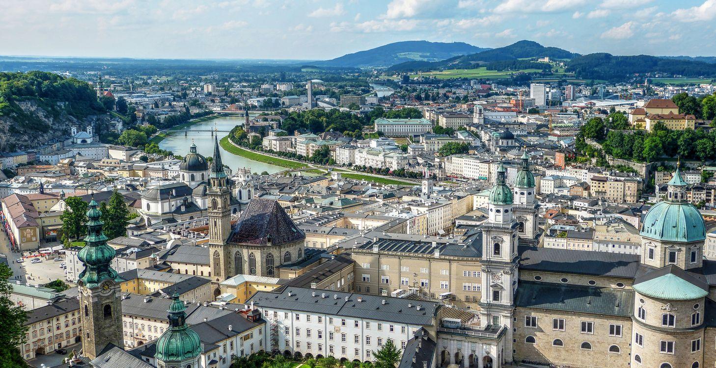 Дома в Австрии · бесплатное фото