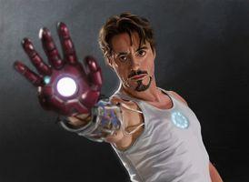 Photo free Iron Man, Artstation, superheroes