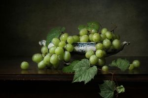 Photo free fruit, still life, grapes