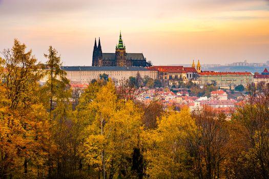 Заставки осень, Чехия, Прага