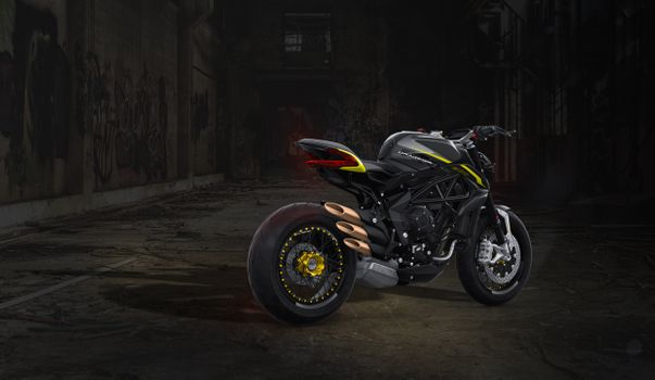 Photo free Mv Agusta, black, motorcycle