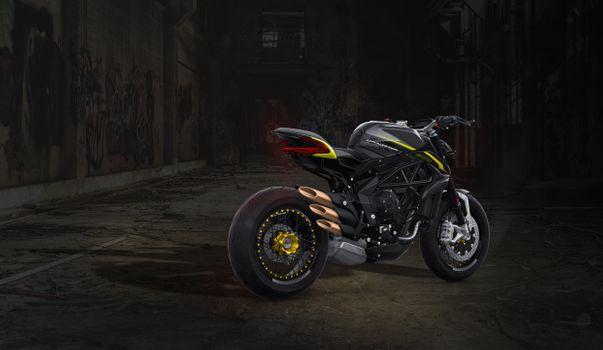 Photo free Mv Agusta, black, motorcycle