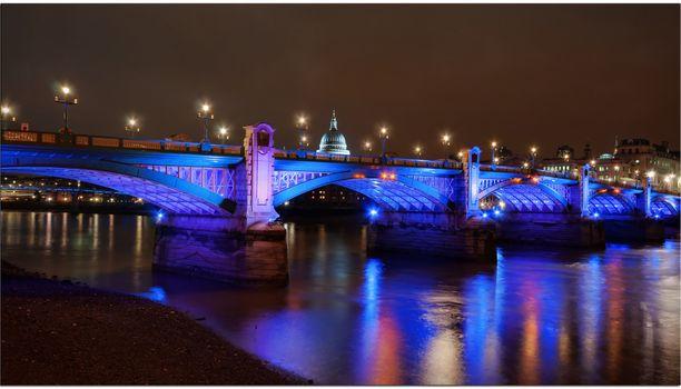 Фото бесплатно город, Southwark мост, река Темза