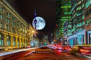 Фото бесплатно Торонто, Станция Юнион, город