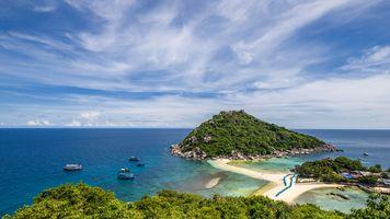 Заставки Koh Nangyuan,Nang Yuan Island,Thailand