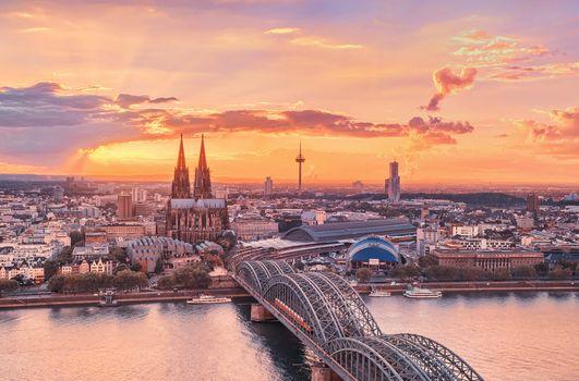 Photo free bridge, dawn, architecture