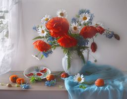 Photo free flowers, still life and without registration