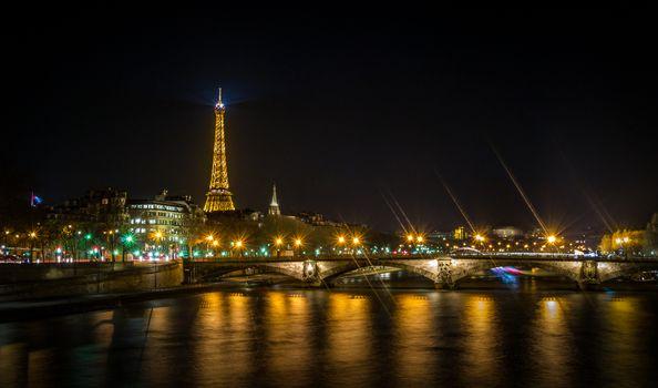 Фото бесплатно France, иллюминация, Eiffel tower