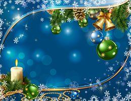Фото бесплатно Рождество обои, фон, украшения